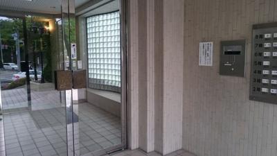 オートロック入口