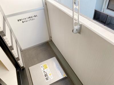 【バルコニー】プレミアムキューブ三宿
