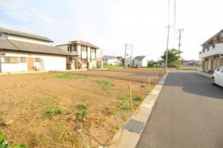 【外観】鶴ヶ島市上広谷 建築条件なし売地 「若葉駅」徒歩5分 敷地42坪
