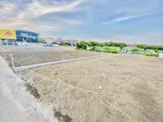 【前面道路含む現地写真】新築戸建て 中島