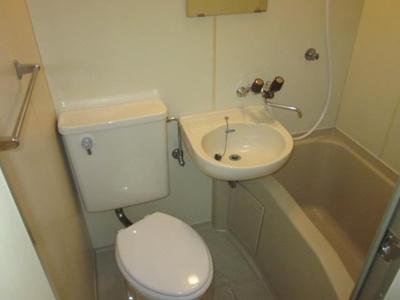 【浴室】ハイツ萱町