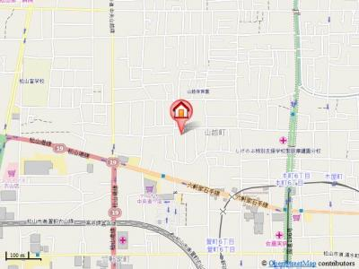 【地図】第91杉フラット