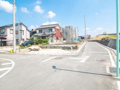 【前面道路含む現地写真】名古屋市中川区下之一色町字宮分181-1【仲介手数料無料】新築一戸建て