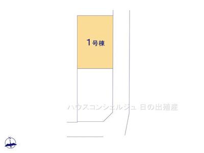 【区画図】名古屋市中川区下之一色町字宮分181-1【仲介手数料無料】新築一戸建て