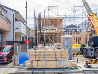 【外観】名古屋市名東区香流3丁目124 【仲介手数料無料】新築一戸建て 1号棟