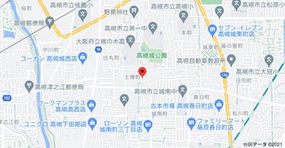 【地図】グリーンハイツ (株)Roots