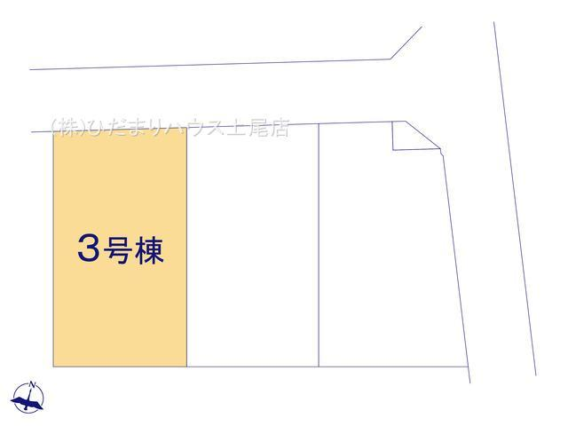 【区画図】西区三橋6丁目 新築一戸建て リーブルガーデン 03