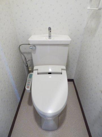 【トイレ】ラブリハイツ甲府