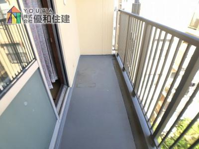 【バルコニー】伊川谷住宅 9号棟