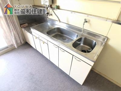 【キッチン】伊川谷住宅 9号棟