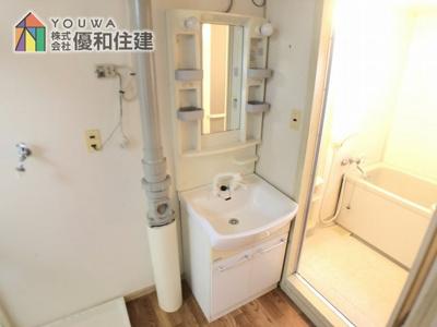 【独立洗面台】伊川谷住宅 9号棟 5階