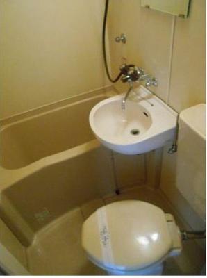 【浴室】カメヤハイツ