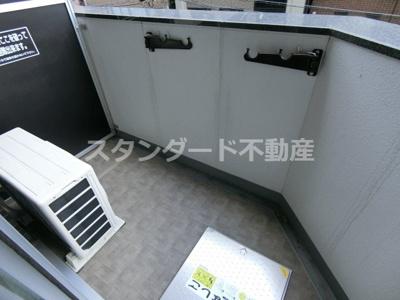 【バルコニー】プレサンス梅田東ベータ