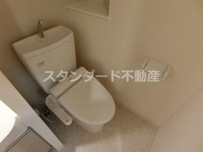 【トイレ】プレサンス梅田東ベータ