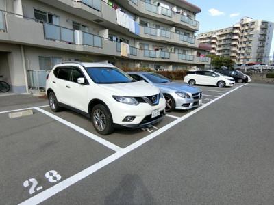 【駐車場】稲野第二ハイツ