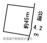 【区画図】56803 岐阜市則松土地