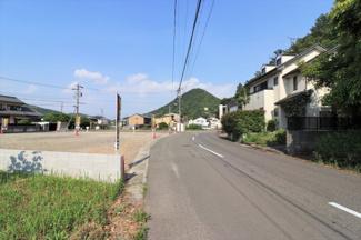 【前面道路含む現地写真】56876 岐阜市日野西分譲地