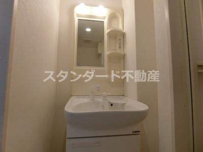 【洗面所】シティサイドステージ福島