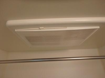 「浴室乾燥機付のお風呂」