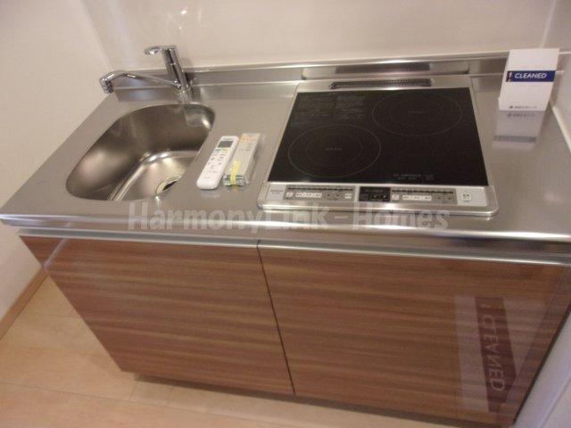 IL MEZZO DI TOKYO UNOのお料理しやすいキッチンです
