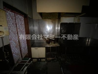 【キッチン】堀木2丁目居抜店舗N