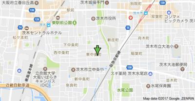 【地図】エステートハイノ