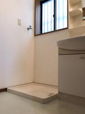 1階の洗面室です♪