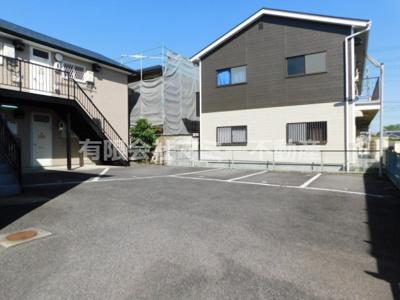 【駐車場】コンフォードKURODA 青葉町アパートK