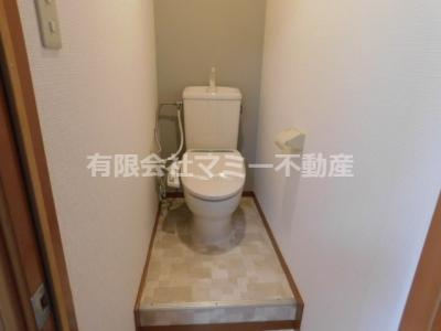 【トイレ】コンフォードKURODA 青葉町アパートK