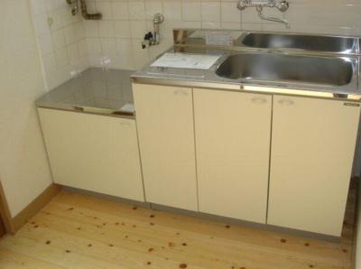 【キッチン】マンションヤハギ