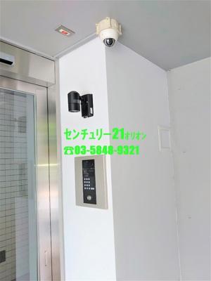 【セキュリティ】スカイヒルズ鷺ノ宮(サギノミヤ)-3F