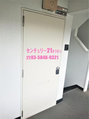 【玄関】DAWN(ドーン)練馬-2F