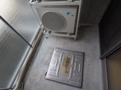 【バルコニー】岡本Rd12