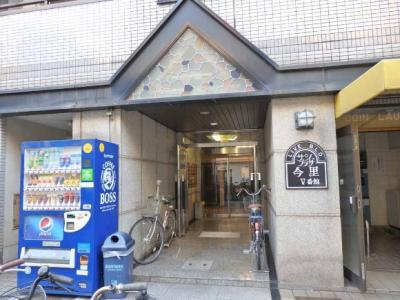 【エントランス】サンプラザ今里5番館