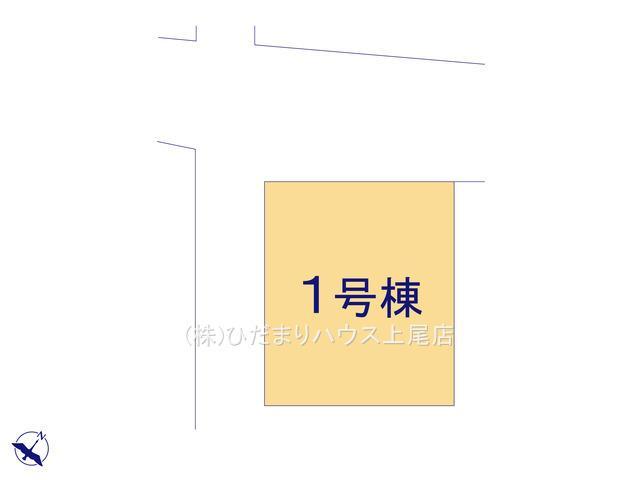 【区画図】鴻巣市栄町 2期 新築一戸建て リッカ 01