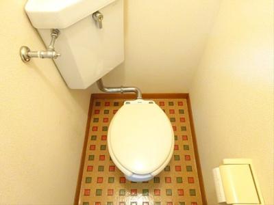 【トイレ】カスミハイツ