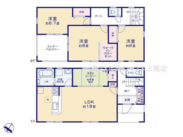 鴻巣市人形 第4 新築一戸建て リーブルガーデン 01