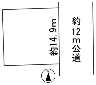 【区画図】56719 岐阜市城田寺土地