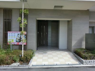 【エントランス】レオンコンフォート上本町