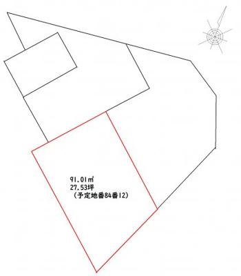 【区画図】高知市百石町