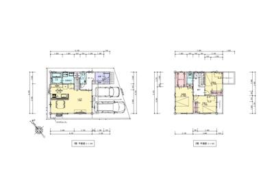 建物プラン例平面図 価格1751.64万円