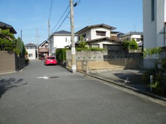 【前面道路含む現地写真】尼崎市南武庫之荘 中古戸建