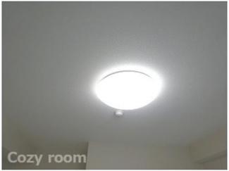 照明器具付きです。