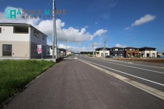 【前面道路含む現地写真】クレイドルガーデン 真岡市亀山 第8