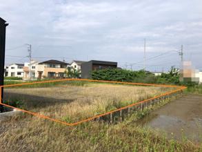 木曽川町黒田字西沼土地の画像