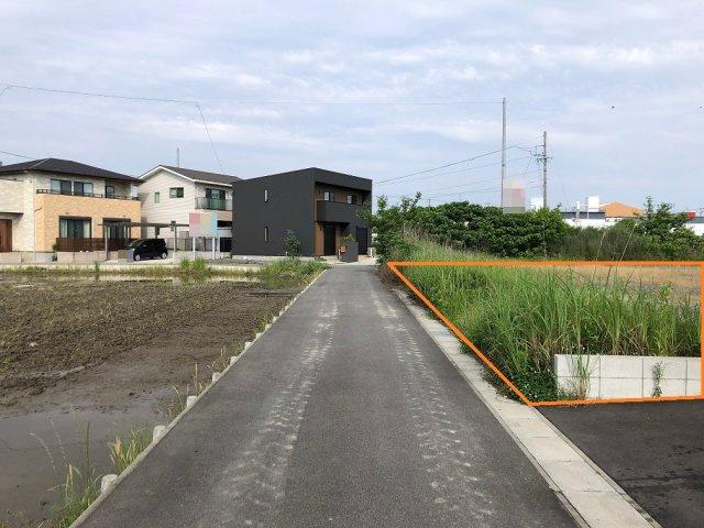 【外観】木曽川町黒田字西沼土地