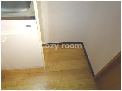 冷蔵庫置き場スペースです。