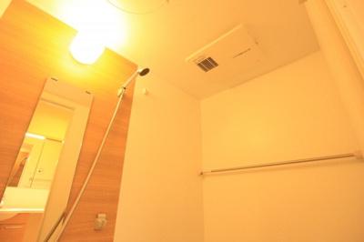 雨天時に便利な浴室乾燥機♪