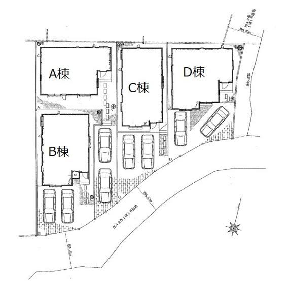 区画図です。A棟