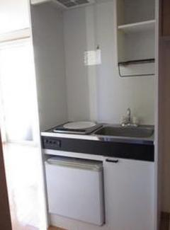【キッチン】《2006年築!木造》横浜市鶴見区下末吉4丁目一棟アパート